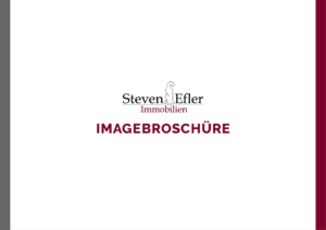 Imagebroschüre Steven Efler Immobilien