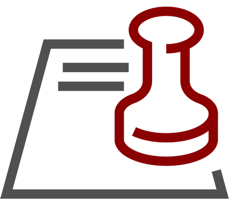 Landlord Service Contract Icon