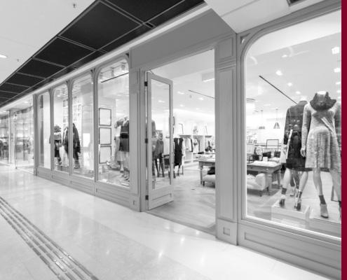 Ladenlokal in Einkaufszentrum